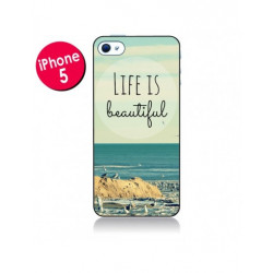 Coque Complète Life is Simple iPhone 5/5s