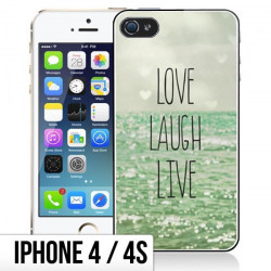 Coque Love and Live iPhone 4/4s